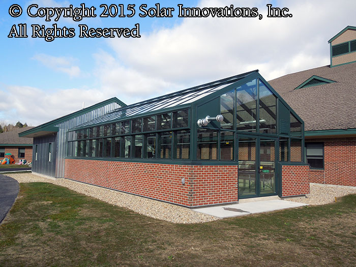 Educational Greenhouses and Institutional Greenhouses by Solar Innvoations, Inc.