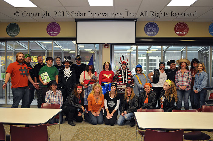 Halloween at Solar Innovations, Inc.