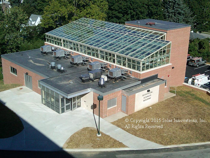 Institutional Greenhouses by Solar Innovations, Inc.
