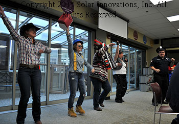 The Solar Innovations, Inc. group Halloween costume winners