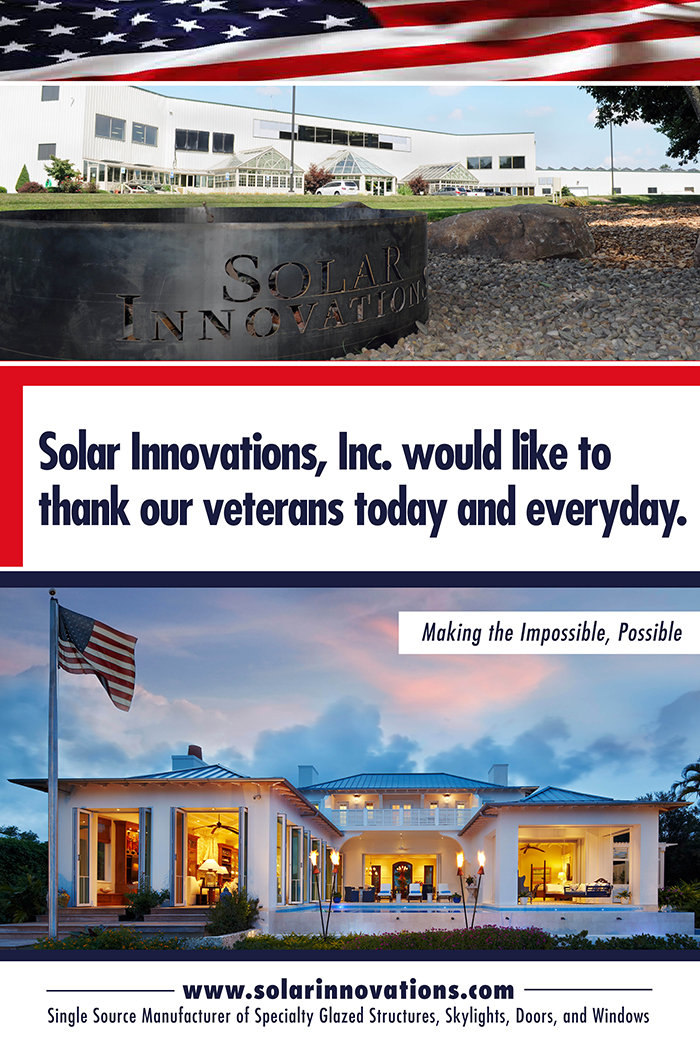 Honoring Veterans Day 2015 at Solar Innovations, Inc.