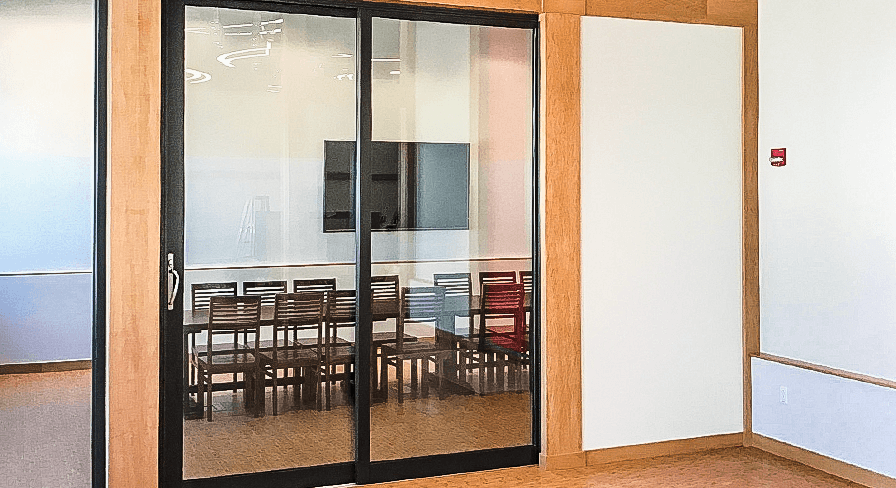 Acoustical Sliding Glass Doors