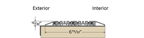 G2 Sliding Non-Thermal Sill