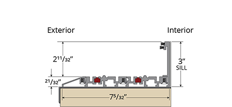 G3 Lift-Slide Thermal Sill