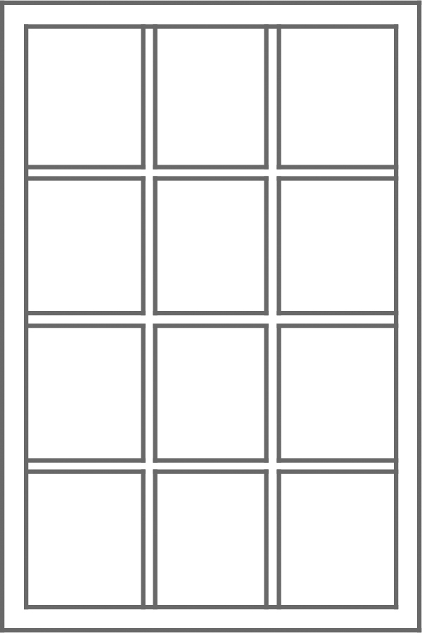 Traditional Grid Pattern