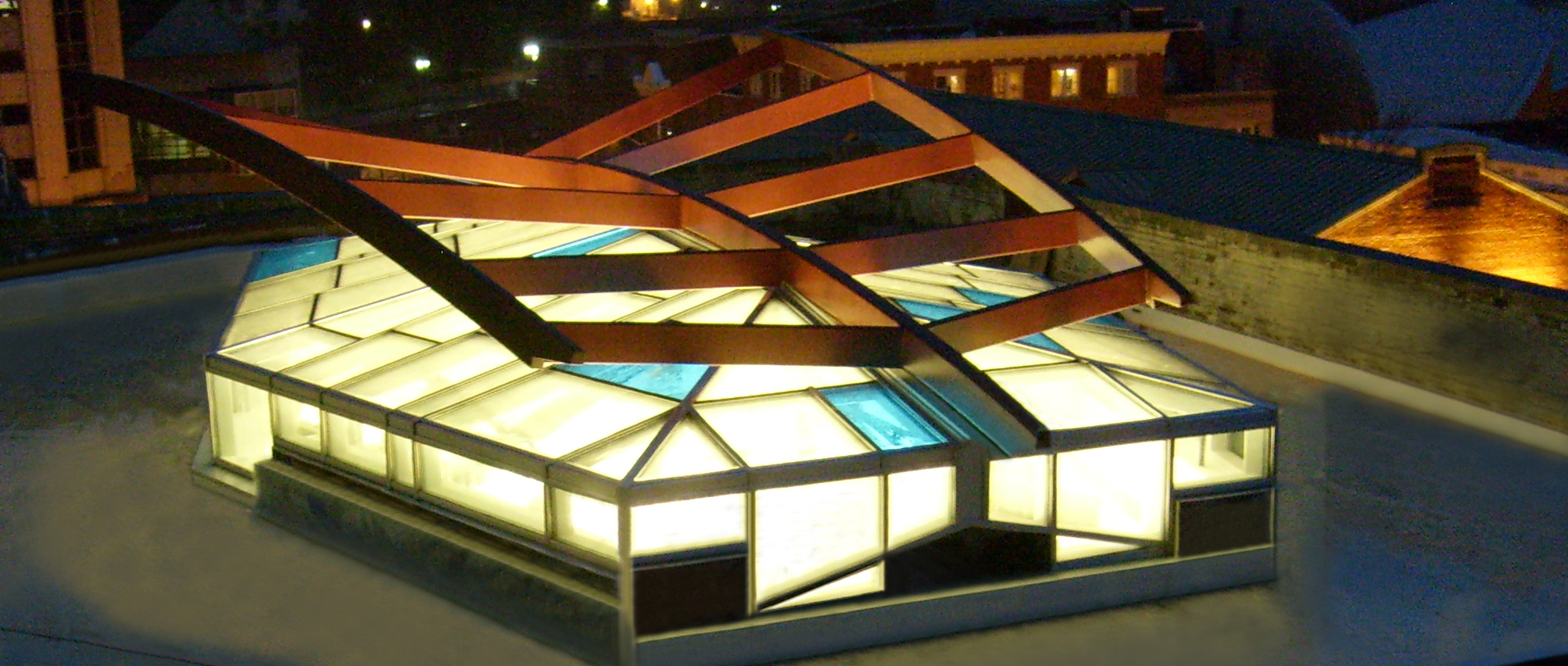 Polycarbonate Custom Skylight