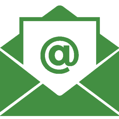 Newsletter signup email icon
