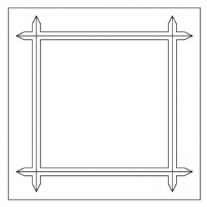 Picture Frame V-Groove