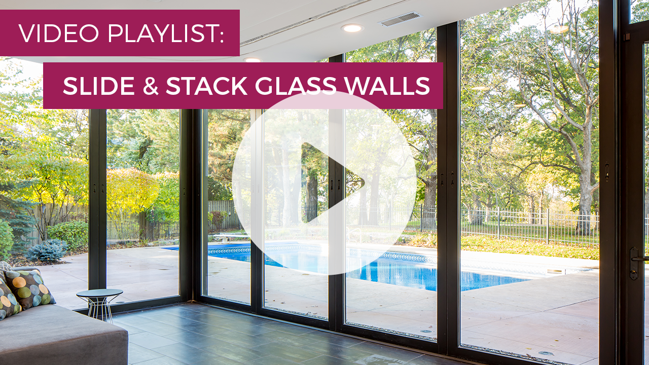 slide and stack glass walls