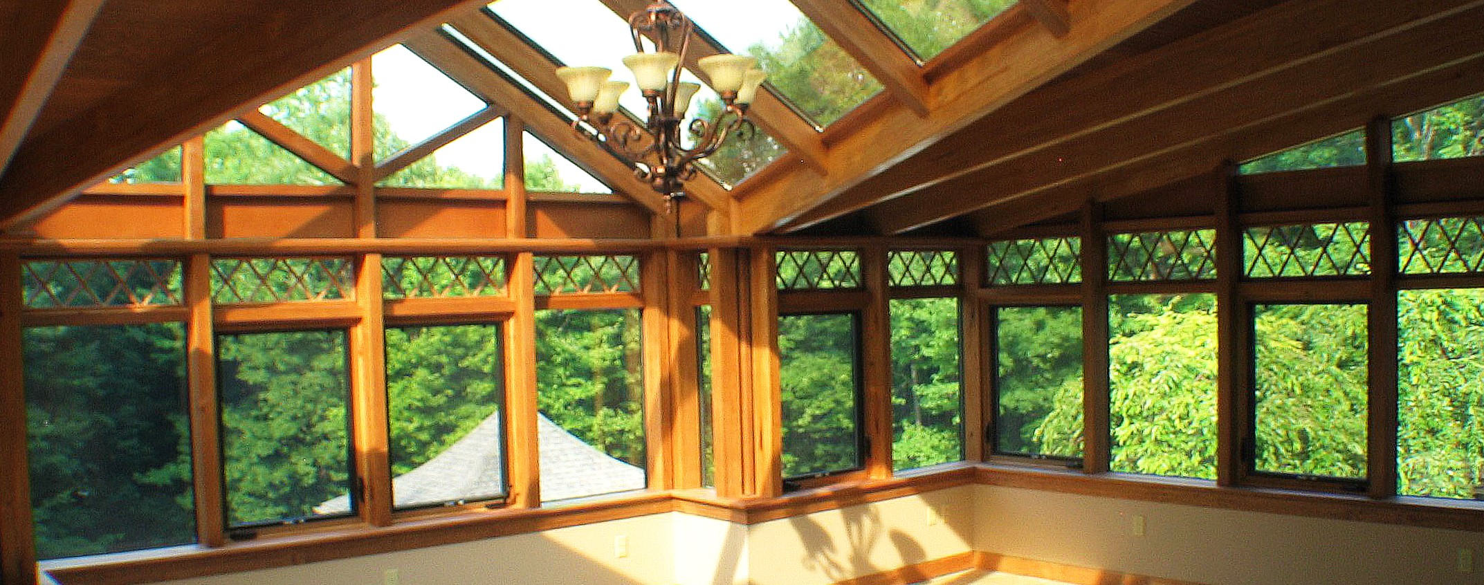 did you know that solar innovations provides wood products in addition to glass - Innovative Wood Beam Ceiling