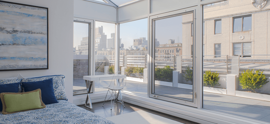 Amy Schumer Penthouse Windows