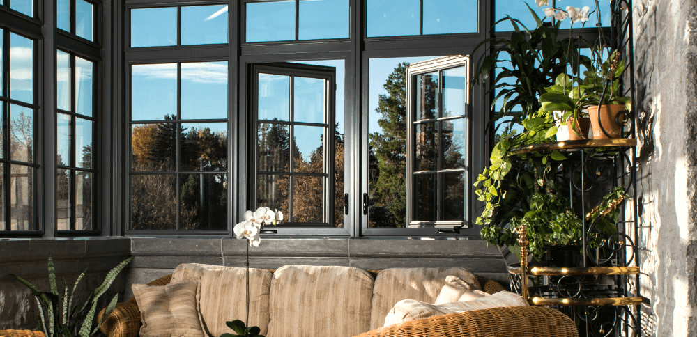 Conservatory casement windows