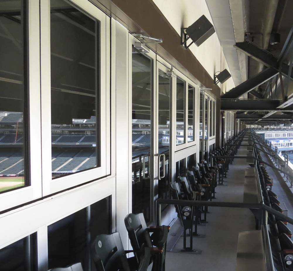 Coors Stadium - Stacking Glass Walls