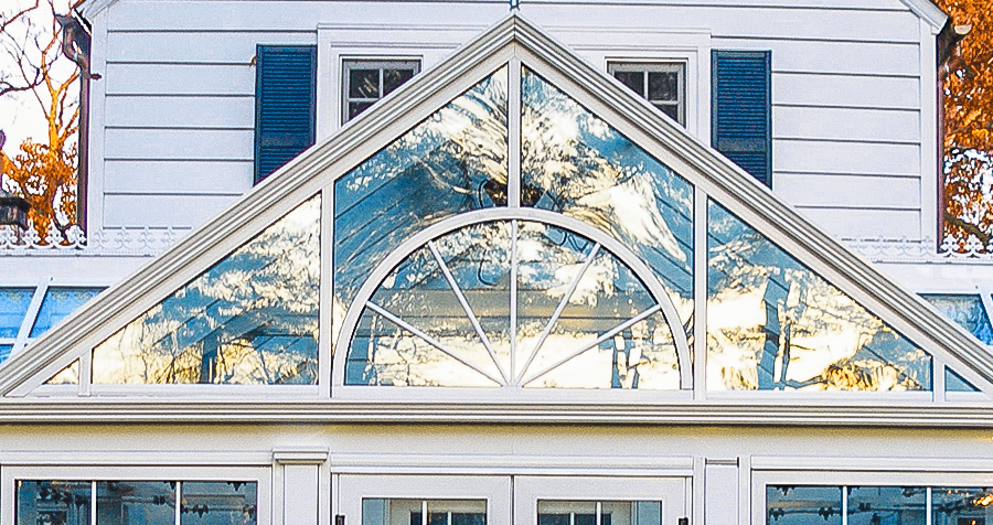 Sunroom Gable Pediments