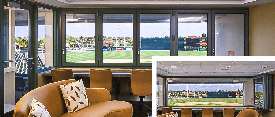 Commercial Folding Glass Windows