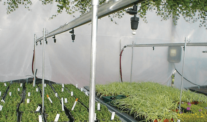 Greenhouse Misting System Kits : Watering systems greenhouse accessories solar