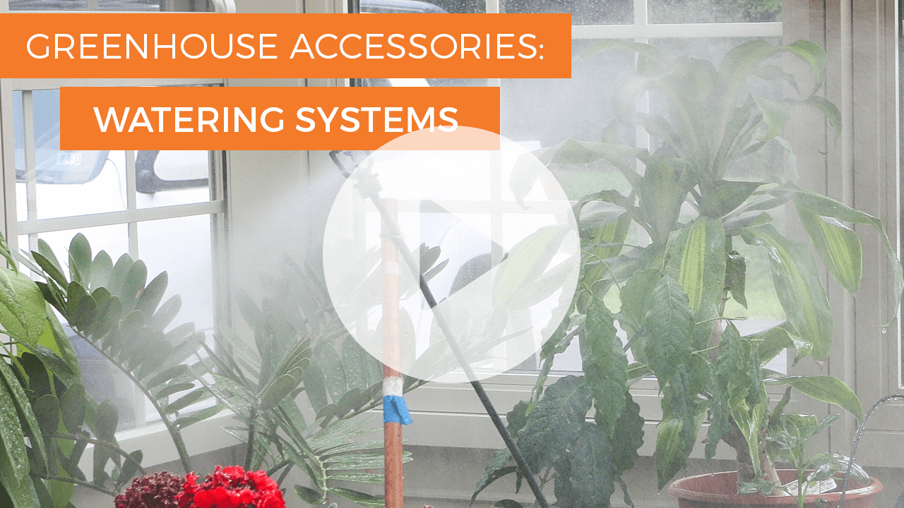 Greenhouse Misting System : Watering systems greenhouse accessories solar