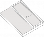 Operable Skylight Isometric