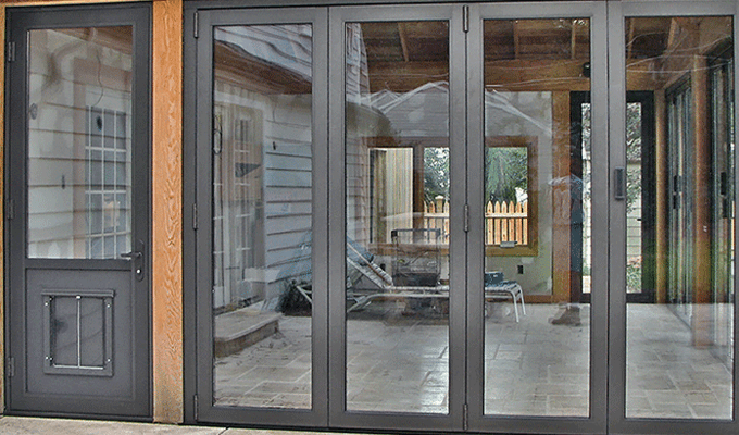 Exterior Door With Pet Door. Pet Doors Products  Sunrooms Solar InnovationsSolar