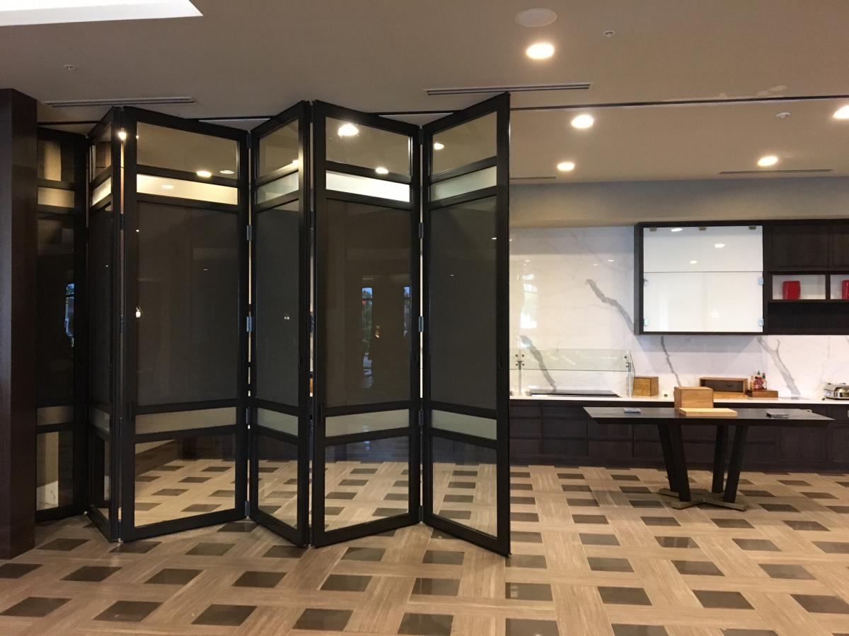 Testimonials We Just Finished Installing The 2ndorder Of Folding Gl Wall Systems