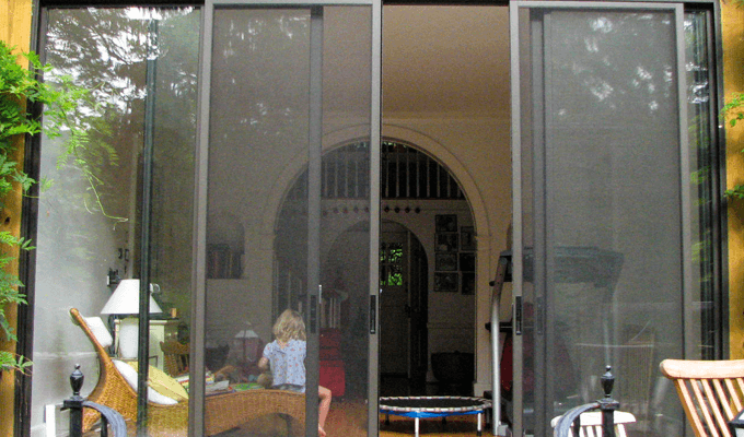 Sliding Door Screen System