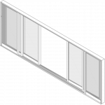 Sliding Door Isometric