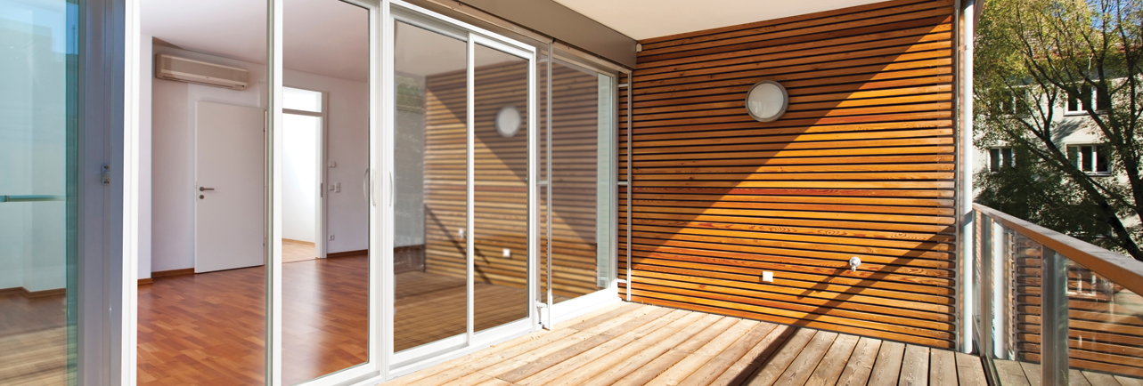 Vinyl-Composite uPVC Sliding Glass Door